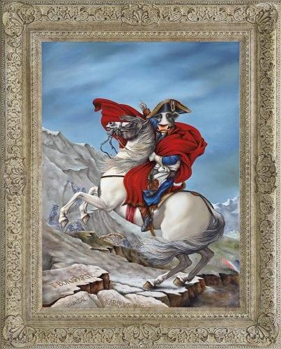 Caroline Shotton - Napoleon T-Bonaparte