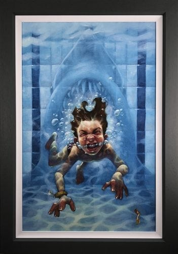 Get Out Of The Water Canvas Edition by Craig Davison