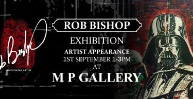 Rob Bishop Exhibition/Appearance 01/09/18 1-3pm