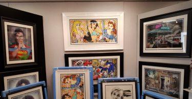 JJ Adams Exhibition/ Artist Appearance