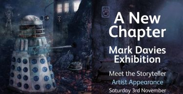 "Mark Davies Exhibition ""A New Chapter"" 03/11/18"