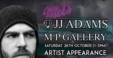 JJ Adams Exhibition/ Artist Appearance October 26th 2019 1-3pm