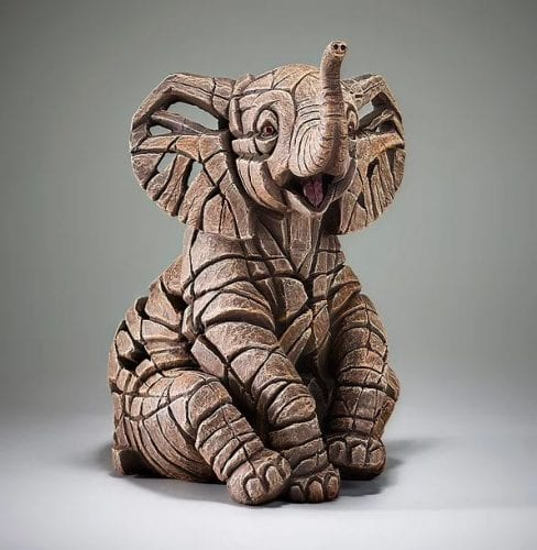 Elephant Calf by Edge Sculptures