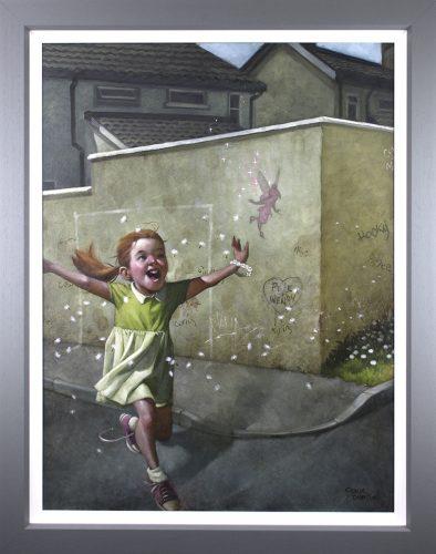 Faith, Trust & Pixie Dust (Canvas Edition) by Craig Davison
