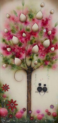 Love Cats Original by Kealey Farmer