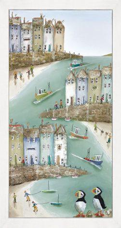 High & Dry II (Box Canvas) Rebecca Lardner