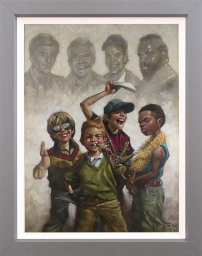 The B Team (Canvas Edition) Craig Davison
