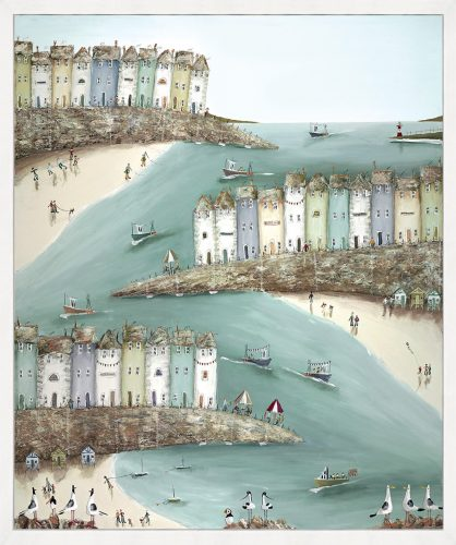 Shore Thing (Box Canvas) by Rebecca Lardner