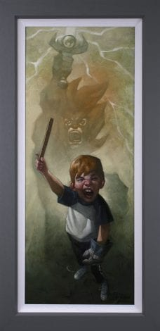Thunder, Thunder, Thunder Cats Hoooo Canvas by Craig Davison
