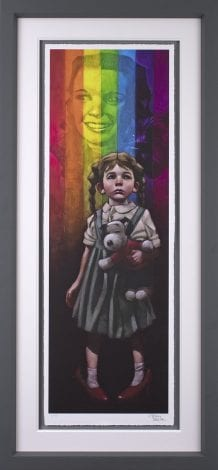 Birds Fly Over The Rainbow Paper by Craig Davison